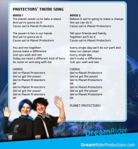 Planet Protector song lyrics